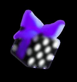 fioletine dovanu dezute