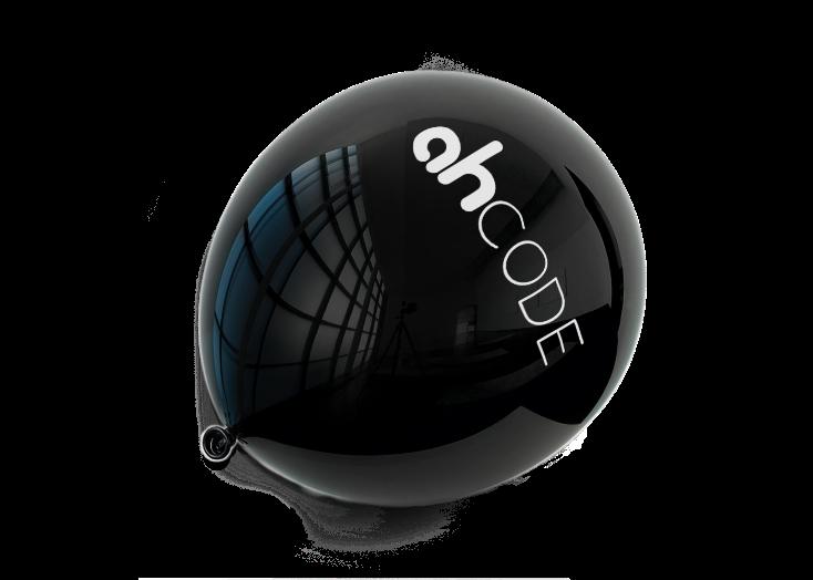 juodas ahCode balionas