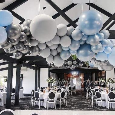balionai švenčiu salė dekoravimas